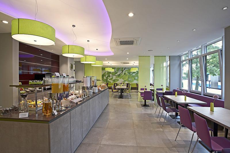 Reichhaltiges fr hst cksbuffet mit bio br tchen im hotel for Bio design hotel